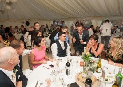 Magic Entertainment During the Wedding Breakfast