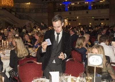 Performing Magic at The Royal Variety Charities, Royal Variety After Gala Dinner